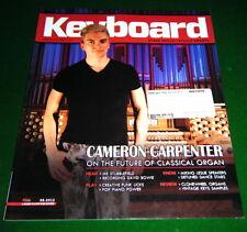 2012 Keyboard Magazine Reviews Hammond SK2, Clavia Nord C2D, MIKING LESLIE Spkr.