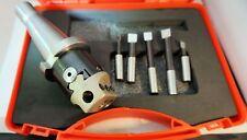 Soba 50mm fresado barras de Barrenado completo con herramientas R8 Vástago