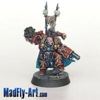 Chaos Space Marines Lord MASTERS6 painted metal MadFly-Art