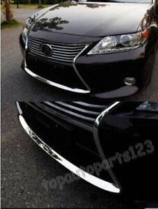 Fit LEXUS ES250 ES300 ES350h 2013-2015 New Front Bumper Down Decorative Trim Set