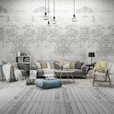 8x8ft Retro Brick Wall Living Room Wood Floor Backdrops Photography Background