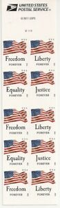 US 4673-4676 4676b Four Flags forever booklet AVR (10 stamps) MNH 2012