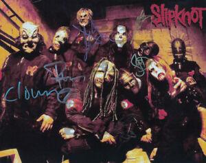 Slipknot Autographed signed 8x10 Photo Reprint