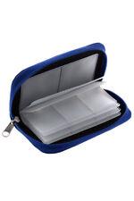 blu sacchetto cassa copertura Borsa Per 22 schede di memoria mini SD XD I2J2