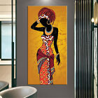 African Black Woman Scandinavian Canvas Painting Posters and Prints Wall Art