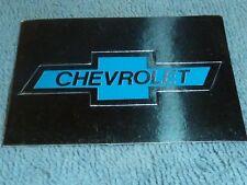 Sammelsticker Nr. 52 Bild Sticker Auto 2000 Chevrolet Emblem Glitzer Panini 1985