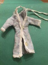 SINDY Poupée ou similaire poupées Bleu Pâle Matelassée Nuit Robe/Robe/lit Manteau