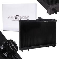 JAPSPEED ALLOY BLACK RACE DRIFT RADIATOR FOR NISSAN SKYLINE R33 R34 GTST GTT GTR