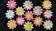 24 x Mulberry Paper 35mm FLOWERS MPFF5  Scrapbook Party Card embellishments