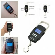 Portable Lcd Digital Weight Scale Hanging Electronic Fish Luggage Hook Supplies
