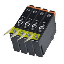 4 compatibile E711 Nero Cartuccia Stampante a getto d'inchiostro per T0711 TO711 T0891 TO891