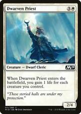 Foil - SACERDOTE DEI NANI - DWARVEN PRIEST Magic M19 Foil