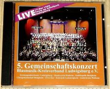 5. Gemeinschaftskonzert Blasmusik-Kreisverband Ludwigsburg e.V. Live - 1998 [CD]