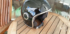 Vespa Helm VJ 1 Gr. XL Jethelm integr. Sonnenvisier schwarz glanz neuwertig