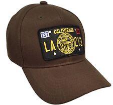 City Seal Hat Color Brown Adjustable City Of Los Angeles Hat