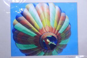 Quechee Vermont Balloon Festival Color Rainbow Colors 8 x 10 Photograph Photo