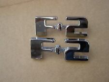 New Repro. 1948 1949 1950 Ford F-2 Truck Pickup Cowl Side Emblems Ornaments F2
