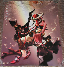 VERY RARE Persona 2 Eternal Punishment Playstation Promo Poster Atlus II PSX PS1