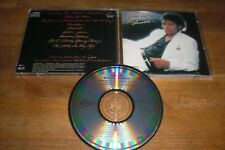 Michael Jackson - Thriller Old Press. Made In Japan CBS Smooth Case No Barcode