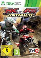 Xbox 360 MX vs. ATV UNTAMED Moto Cross gegen Quads Renn Spiel Off Road Ring Race