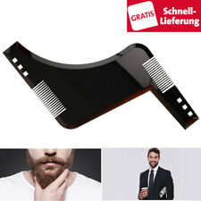 Bart Schablone Rasur Styling Trimmer symmetrisch Bartpflege Vorlage Styling Tool