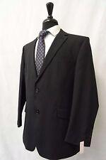 Men's Scott By The Label Black Striped Suit 42S W36 L30 CC5984
