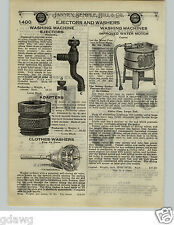 1924 PAPER AD 2 PG Capital Dexter Mazda Success Water Motor Washing Machine