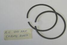 ARCTIC CAT 440 KAWASAKI PISTON CHROME RINGS SET OF 2 RINGS T1 SERIES 1971 -1975
