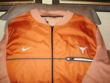 Texas Longhorns Nike Shield Burnt Orange Full Zip Golf Hybrid Jacket Men's XL