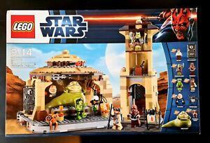 LEGO STAR WARS Jabba's Palace 9516 Jabba the Hut *all minifigs* RARE