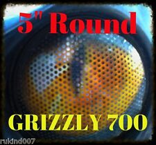 """Yamaha Grizzly 700 RUKind Covers Head Light YELLOW Eyes 5"""" Round MUST HAVE ITEM"""