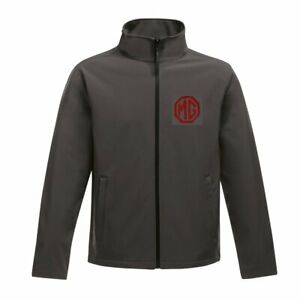 MG Embroidered Logo Classic Car Softshell Jacket Personalised Free P&P