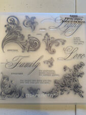 Ctmh Close to My Heart Stamps - S2003 Family Legacy New