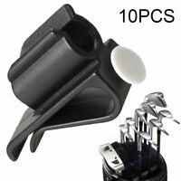 10X Golf Club Tasche Clip auf Putter Klemme Halter Putting Organizer-Ball Marker