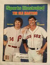 Sports Illustrated Magazine - July 19, 1982 The Old Masters Rose & Yastrzemski