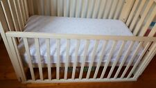 BOORI URBANE ALICE COT/Toddler Bed Almond Colour with Baby Bunting Mattress
