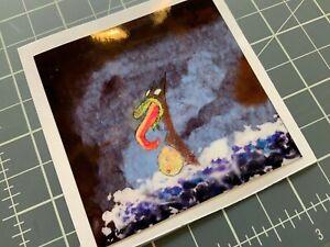Grog Vinyl Sticker Weird Metal Psychotic Original JDB Art Fantasy Sci-Fi Fun Bad