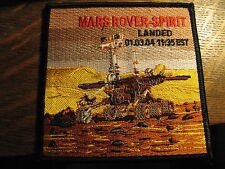 Mars Rover Spirit Patch - 2004 NASA Outer Space USA Rocket Mission Jacket Patch