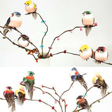 Mini Fake Birds Artificial Feather Foam Doves Wedding Decorationvenue OrnamentS