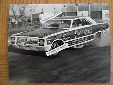"Tommy Smith 'Super Swinger"" 8x10 NHRA Funny Car Photo Circa 1968 1969 Vintage"