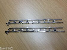 Lambretta Panel Lateral insignias. Cromado. serie 3 TV Lis. nuevo
