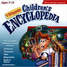 The Learning Company - Ultimate Children's Encyclopedia CD-ROM