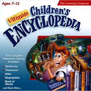 "Ultimate Children""s Encyclopedia - Windows 2000"