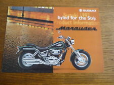 SUZUKI VZ 800 MARAUDER MOTORBIKE BROCHURE,  1997. POST FREE (UK)