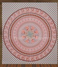 Indian Elephant Mandala Wall Hanging Hippie Queen Tapestry Boho Throw Bedspread