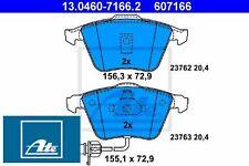 Ate 13.0460-7166.2 Bremsbelagsatz für Scheibenbremse Bremsbelagsatz