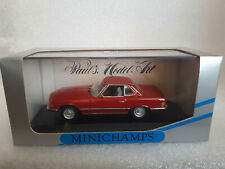 MERCEDES-BENZ 350 SL Cabriolet hard top 1974 R107 red 1/43 Minichamps 430 033452