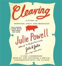 BOOK/AUDIOBOOK CD Julie Powell Cooking Includes PDF Recipes Biography CLEAVING