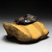 Cicada Handmade Yixing Zisha Clay Mascot Tea Pet Table Decoration Ornament