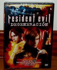 RESIDENT EVIL DEGENERACION DVD PRECINTADO NUEVO CIENCIA FICCION (SIN ABRIR) R2